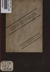 Lessons in Longevity: Paragraphs on Home Hygiene, and the Art of Prolonging Life