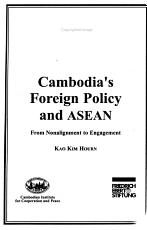 Cambodia s Foreign Policy and ASEAN PDF