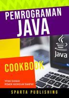 Pemrograman Java  Cookbook PDF