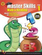 Math & Reading Workbook, Grade 1