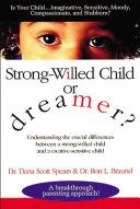 Strong willed Child Or Dreamer  Book