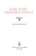 Download Karl Marx  Frederick Engels Book