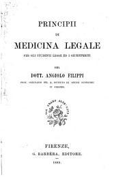 Principii di medicina legale per gli studenti legge ed i giurisperiti