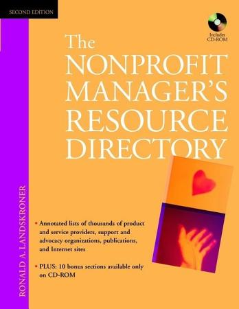 The Nonprofit Manager s Resource Directory PDF