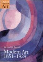 Modern Art  1851 1929 PDF