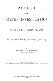Report of the Oyster Investigation and of Survey of Oyster Territory ...