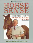 Horse Sense Book PDF
