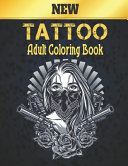 New Tattoo Adult Coloring Book