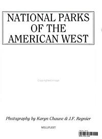 National Parks of the American West PDF