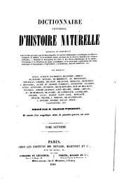 Dictionnaire universel d'histoire naturelle ...
