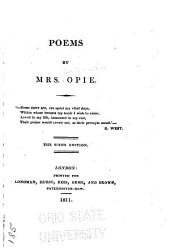 Poems, by Mrs. Opie