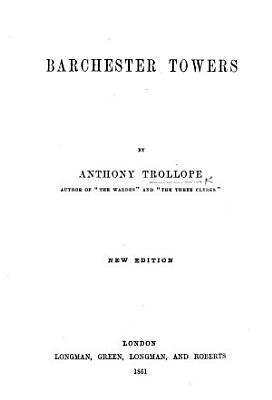 Barchester Towers  etc PDF