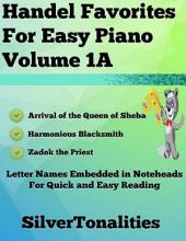 Handel Favorites for Easy Piano Volume 1 A