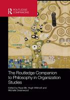 The Routledge Companion to Philosophy in Organization Studies PDF