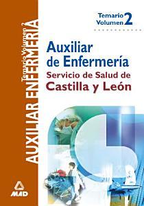 Auxiliares de Enfermeria Del Servicio de Salud de Castilla Y Leon Temario Volumen Ii Ebook  PDF