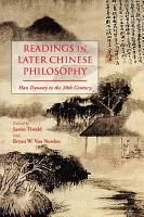 Readings in Later Chinese Philosophy PDF