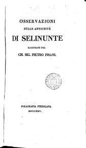 Osservazioni sulle antichità di Selinunte
