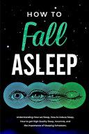 How To Fall Asleep Book PDF