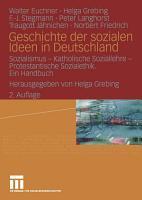 Geschichte der sozialen Ideen in Deutschland PDF