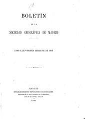 Boletín de la Real Sociedad Geográfica: Volumen 30