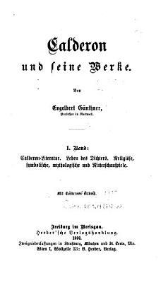 Calderon und seine werke PDF