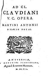 Ad Cl. Claudiani opera notae