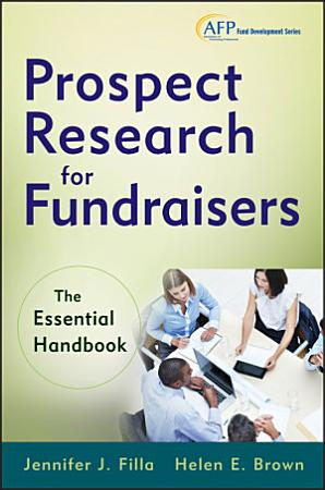Prospect Research for Fundraisers PDF
