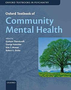 Oxford Textbook of Community Mental Health PDF