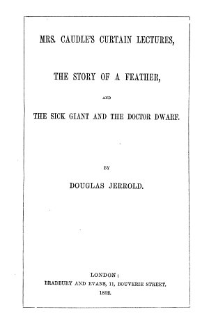 The writings of Douglas Jerrold  Collected ed
