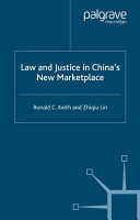 Law and Justice in China s New Marketplace PDF