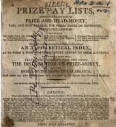Steel's Prize Pay Lists; new series ... Corrected to the first of April, 1805