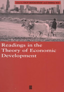 Readings in the Theory of Economic Development PDF