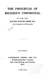 The principles of religous ceremonial