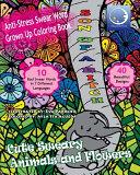 Anti stress Swear Word Grown Up Coloring Book