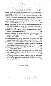 Histoire des guerres civiles des Espangols dan les Indes: Volume2