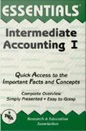 Intermediate Accounting I Essentials