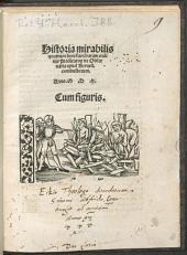 Historia mirabilis quattuor heresiarcharum ordinis Predicato[rum] de Obserua[n]tia apud Bernen[ses] combustorum: Cum figuris