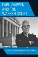 Earl Warren and the Warren Court PDF