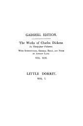 Little Dorrit, Vol. I ~ Paperbound