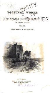 The Poetical Works of Sir Walter Scott, Baronet: Volume 3