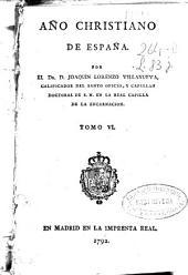 Año christiano de España: Volumen 6