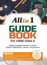 All in 1 Guide Book: CBSE Class X for 2022 Examination