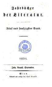 Jahrbücher der Literatur: Band 55