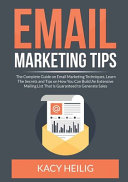 Email Marketing Tips PDF