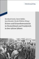 Krisen und Krisenbewusstsein in Deutschland und Frankreich in den 1960er Jahren PDF