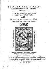 Elogia veris clarorum virorum imaginibus apposita
