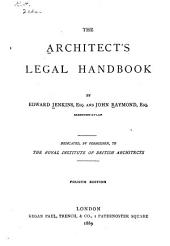 The Architect's Legal Handbook