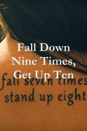 Fall Down Nine Times  Get Up Ten PDF
