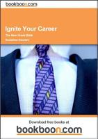 Ignite Your Career PDF