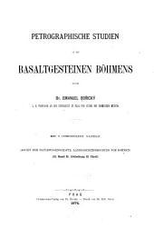 Petrographische Studien an den Basaltgesteinen Böhmens